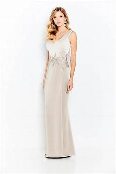 Christine Blake Designs Cameron Blake 120611 Sleek Stretch Satin Mothers Gown