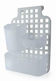 plastic door kitchen bathroom cabinet shower caddy