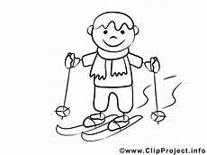 junge auf skiern ausmalbilder f 252 r kinder kostenlos ausdrucken