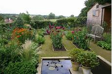 before after a kitchen garden in sussex