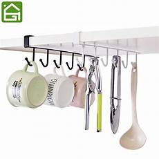 kitchen storage rack cupboard hanging coffee cup organizer