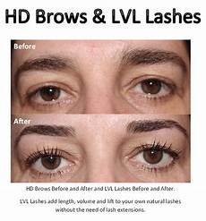 hd brows and lvl lashes before and after flickr photo