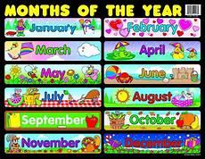 Amazon Com Carson Dellosa Months Of The Year Chart 6277