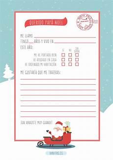 Cartas Para Papa Noel Carta Imprimible Para Pap 225 Noel Y Los Reyes Magos Babitas