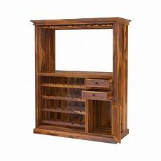 houston handcrafted solid wood wine bar cabinet with glass