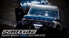 Pro Line Led Light Bar Pro Line Super Bright Led Light Bar Kits Youtube