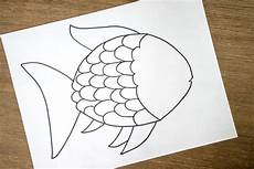 Rainbow Fish Template Rainbow Fish Craft With Free Template The Best Ideas For