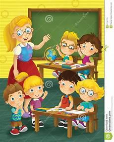 the school education illustration for the children