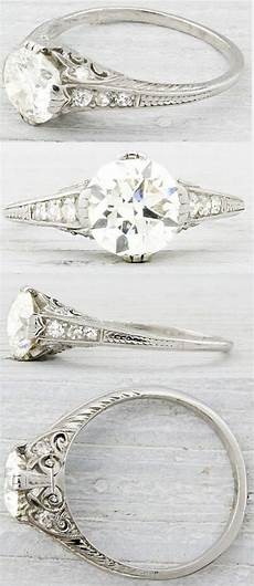 12 swoon some vintage wedding engagement rings you