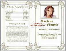 Funeral Program Templates Free 79 Best Images About Funeral Program Templates For Ms Word