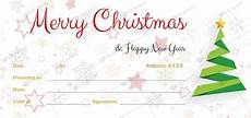 Ms Word Gift Certificate Template Christmas Gift Certificate Template 39 Word Layouts