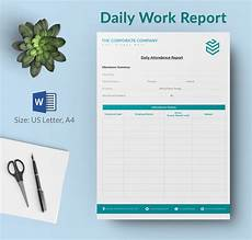 Daily Work Status Report Format Daily Report Template 25 Free Word Excel Pdf