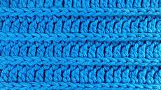 crochet royal ridge stitches free dishcloth pattern