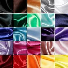 silky satin dress fabric material 100 polyester craft ebay