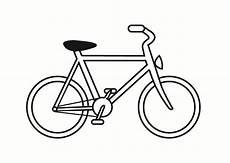 malvorlage fahrrad kostenlose ausmalbilder zum ausdrucken