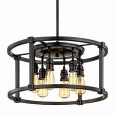 Intertek Lighting Home Depot Home Decorators Collection 6 Light Aged Bronze Dinette