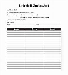 Team Sign Up Sheet 58 Sign Up Sheets Free Amp Premium Templates