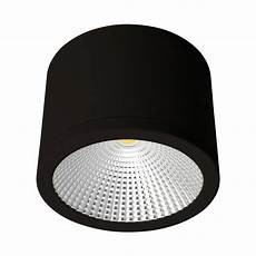 Surface Can Light Neo 35 Watt Dimmable Surface Mounted Led Downlight Black