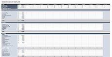 Weekly Budget Excel Template Free Budget Templates In Excel Smartsheet