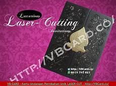 undangan laser cutting murah jakarta kartu undangan pernikahan unik elegan laser cutting