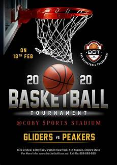 Basketball Tournament Program Template Free Basketball Tournament Playoff Game Flyer Design