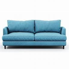 Lilac Sofa 3d Image by 3d Model Soft Sofa Fabric Blue Cgtrader