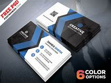 Business Cards Free Templates Free Business Cards Templates Psd Bundle Psdfreebies Com