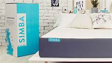 simba mattress reviews analysis ratings overview