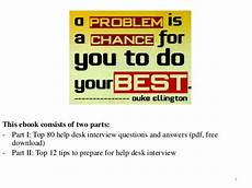 Interview Questions For Help Desk 80 Help Desk Interview Questions With Answers