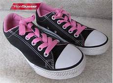 Converse All Star Light Ox Pink Converse Chuck Taylor All Star Street Ox Black Pink Size 1