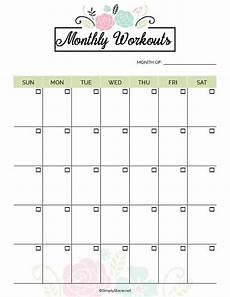 Personal Calendars 2020 2020 Fitness Planner Free Printable Simply Stacie