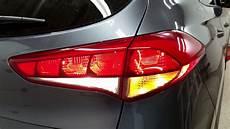 Hyundai Tucson Brake Light 2016 2017 Amp 2018 Hyundai Tucson Suv Testing Lights