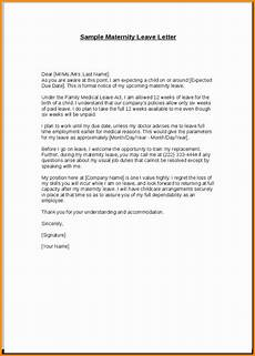 Sample Maternity Letter 12 13 Employee Leaving Announcement Letter Samples