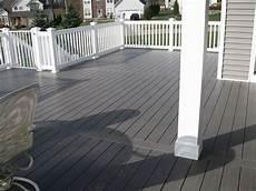 Light Or Dark Deck Stain London Grey Pvc Deck Deck Colors Grey Houses House Deck