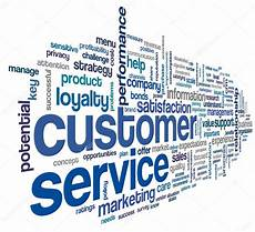 Another Word For Customer Experience Customer Service Concept In Word Cloud Stock Photo