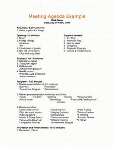 Sample Of Program Agenda Sample Agenda For Business Meeting Google Search