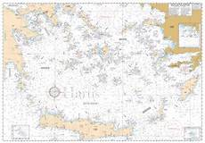 Aegean Nautical Charts Southern Aegean Sea General Pilot Nautical Chart Hartis