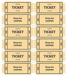 Ticket Making Template Raffle Ticket Templates Word Templates Docs