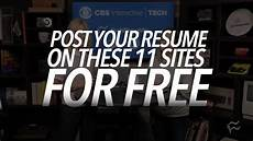 Job Seekers Sites Job Seekers Post Your Resume On These 11 Sites For Free