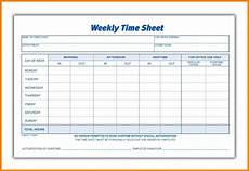 Standard Time Sheet 9 Weekly Payroll Sheets Pay Stub Format