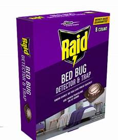 raid bed bug detector trap reviews 2020