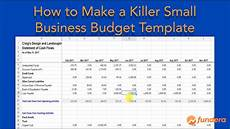Budget Business Our Killer Small Business Budget Template Will Save You