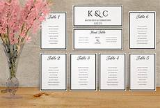 Sample Seating Charts Wedding Seating Chart Template 15 Free Sample Example