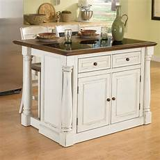 kitchen island lowes home styles white midcentury kitchen islands 2 stools at