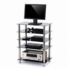 audio component rack av tower media stereo stand