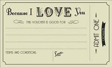 Diy Voucher Template S Day Freebie Free Printable Gift Certificates