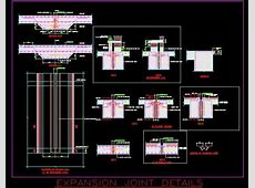 Typical Retaining Wall Expansion Joint Detail   Autocad DWG   Plan n Design