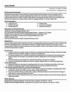 Personal Statement For Care Worker Professional Personal Support Worker Templates To Showcase