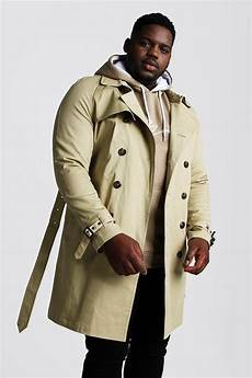 big mans breasted coats big and breasted trench coat by boohooman thread