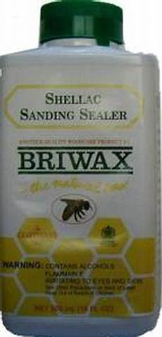 Briwax 500ml Shellac Sanding Sealer by Briwax Shellac Sanding Sealer 16 Oz Architecturals Net